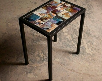 Tile Entry Way Table