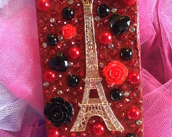 Handcrafted iPhone 5/5s Bling Case