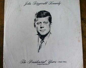 John F Kennedy Album of Presidential Speeches 1960 - 1963