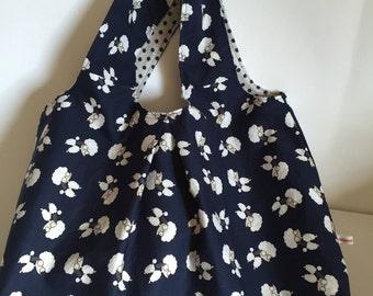 Shopper reversible bag