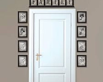 Alphabets To Create Your Own Words For Walls Over Doors Over Windows
