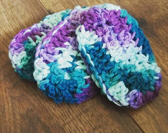 Crochet teething biscuits, 3 pack
