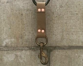 Leather key keeper