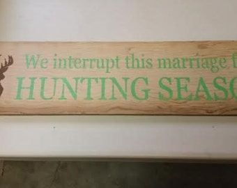 Interrupted marriage