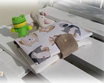 Diaper bag diaper bag patchwork wrap blanket/changing pad