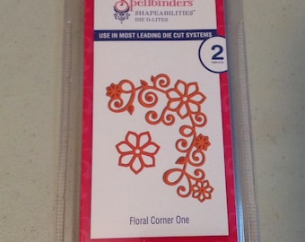 NEW Spellbinders Shapeabilities Floral Die