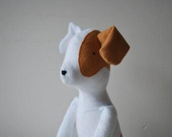 White dog, 38cm