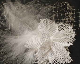 Bobbin lace headdresses