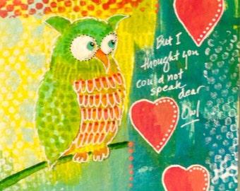 Quiet Owl {ORIGINAL}