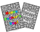 Coloring Page for Father&...