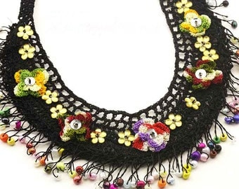 Turkish Lace (Oya) Necklace