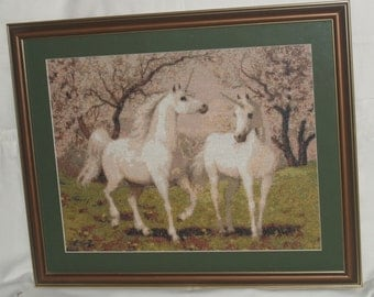 "Cross Stitch ""Unicorns""."