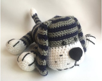 Crochet amigurumi pattern: dog