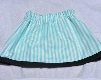 Girls' Striped Skirt