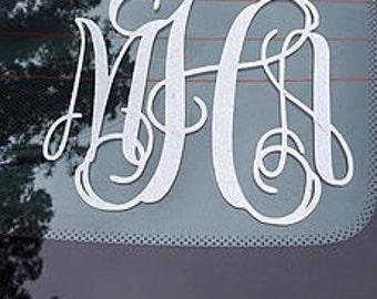 Car Monogram Decal