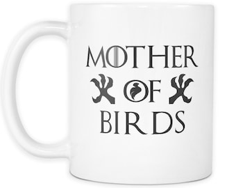 Mother Of Birds White Mug