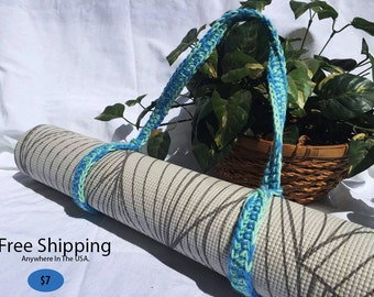 Ocean Breeze Yoga Mat Strap