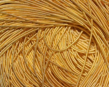 "250"" inches gold rough purl,gold bullion wire for embroidery french cord,hand embroidery material, kora, dull bullion wire thread"
