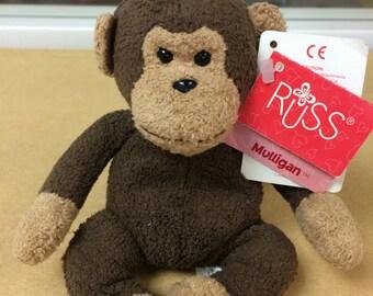 Russ Berrie Luv Pets Mulligan Monkey