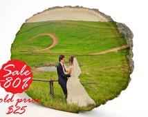 Wedding Gifts, Photo transfer, Picture on wood, Custom portrait, Custom photo