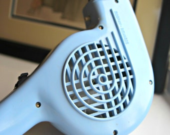 Mid 1960s blue Morphy Richards hairdryer, working & PAT tested