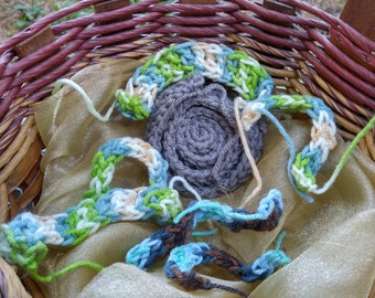 Crocheted Friendship Bracelets
