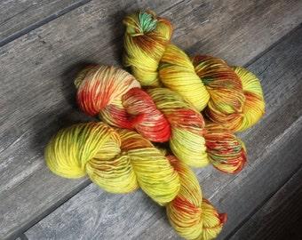 Hand dyed yarn - Jamaican Sun
