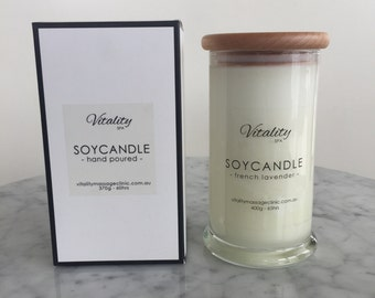 Large Tall Danube Candles - 400g 65hrs