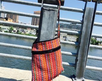 Guatemalan Knit Cross Body Bag