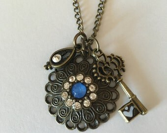 Evil Eye Long Chain Necklace