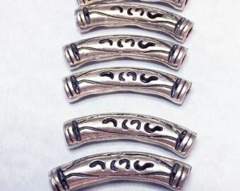 METAL TUBE beads