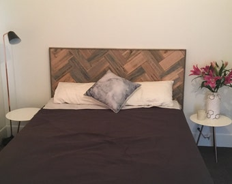 Parquetry bed head