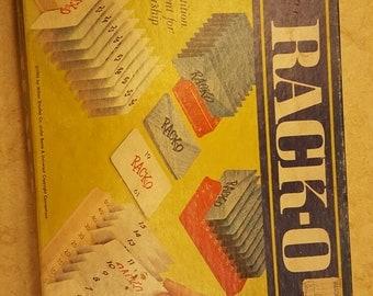 Vintage Rack-O Milton Bradley Game 1966