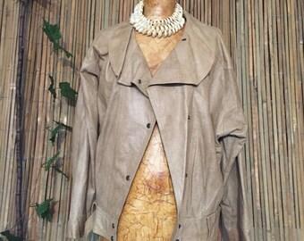 Snake-skin print Jacket