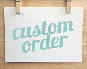 Custom Costume Commission
