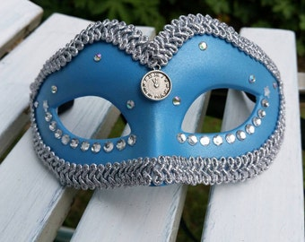 Cinderella or Alice in Wonderland inspired mask.