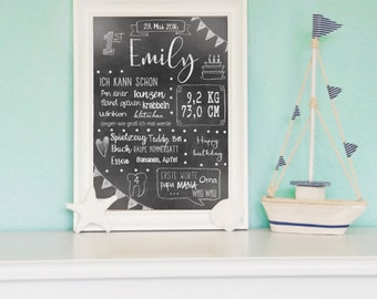 Chalk board white / / white painting