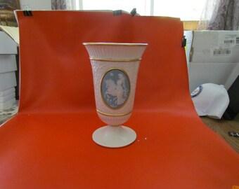 Lady and the Unicorn Vase