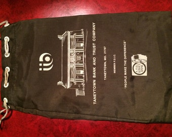 taneytown md bank bags-2 vintage