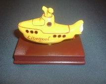 Yellow Submarine Liverpool,Beatles,Collectable 3D Model