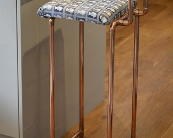 Copper Pipe Stool