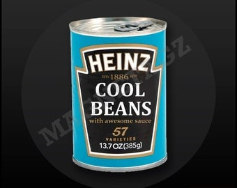 Cool Beans MagneTagz Badge