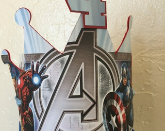 Avengers Party Crown
