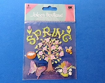 Spring scrapbook stickers by Jolee's Boutique