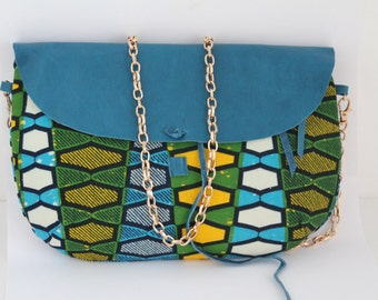 Cloth loincloth and leather pouch: camer