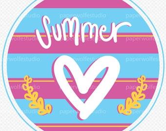 Summer Love Multi-Use Graphic