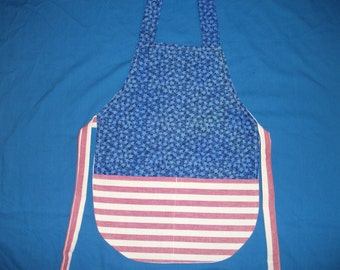 Large Child's Patriotic Apron