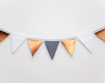 Jessica Molly Copper and Stripes Bunting