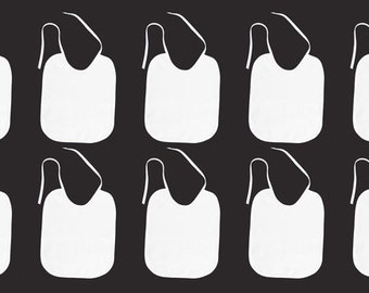 Baby bibs, bibs white 10 bibs for painting,