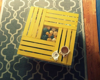 Crate Coffee Table - Made To Order In Any Color or Finish